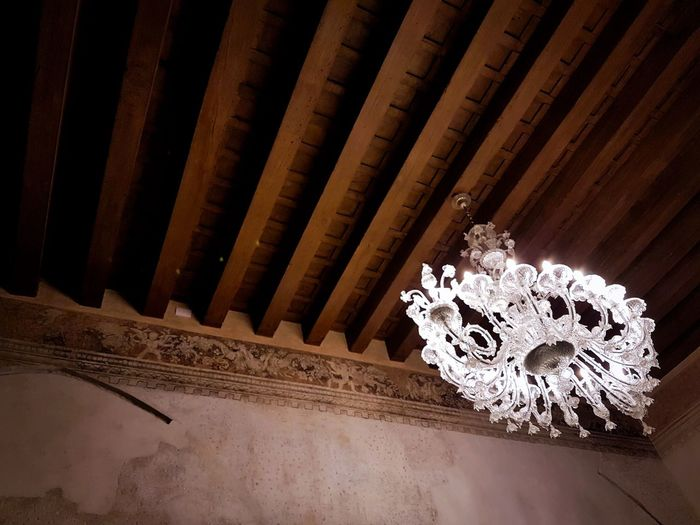 Indoors  Architecture Murano Glass Lamps Historical Buildings Wooden Beams