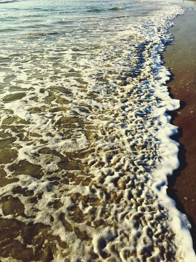 The ocean bright with foam Beachlovers Water_collection Waves Rolling In Beauty In Nature Just Hanging Out Ocean Waves, Ocean, Nature Beachphotography Waves In The Sand Mother Earth