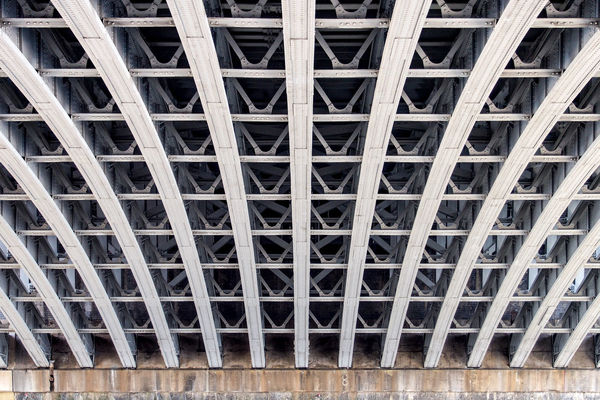 Architectural Design Architectural Feature Architecture Bridge Building Exterior Building Story Built Structure City Life Conformity Curve Development Full Frame Geometric Shape In A Row London Low Angle View Modern Pattern Repetition Thames River