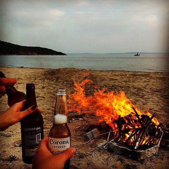 Ocaklar Erdek Kumsal Bira Kamp Xyz Ateş Fire Beach Beer Welcomesummer Corona Bomonti Coronacerveza