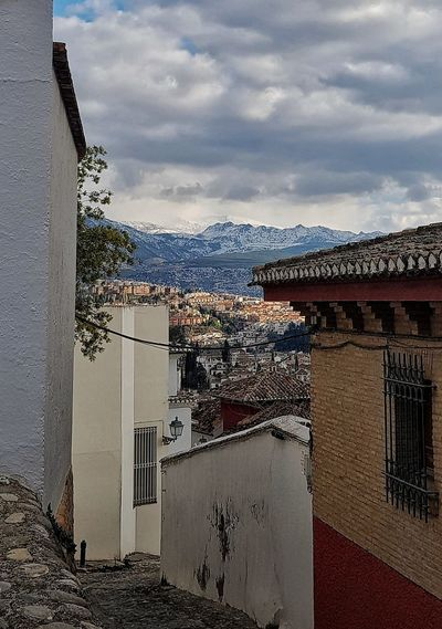 Nofilter PhotoByMe Photography Photooftheday Pittoresque Old Buildings Architecture Town Street EyeEm Gallery EyeEm Best Shots Capturing Movement Oldhouses Old Street Myownphotography Photographylovers Captured Europe Mountains Granada SPAIN Cloud - Sky Nopeople Romantic View From Above Nature Outdoors Amazing View Village Travel Destinations