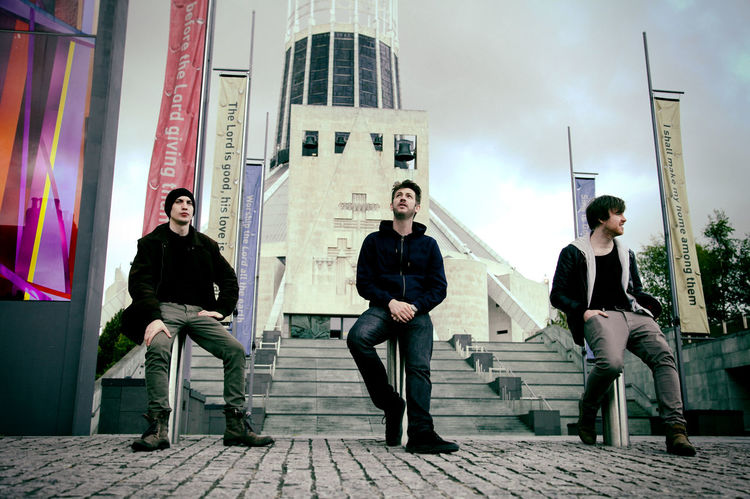 A publicity picture for local Liverpool Band, Wilson Minds. Posing in front of the iconic Metropolitan Cathedral, Liverpool Band Canon_photos Canonphotography Catholic Cathedral City Cobblestone Cool Full Length Liverpool Liverpool Music Scene Liverpool, England Metropolitan Cathedral Liverpool Music Musical Instrument Musician Outdoors Paddys Wigwam Paul Wilkes Publicity Publicity Image Rock Band Rock N Roll Wilson Minds Young Adult