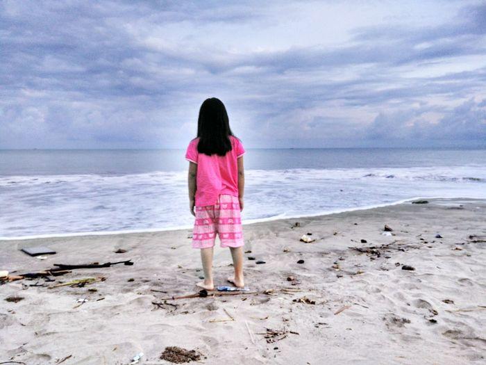 Sea Beach Sunrise Paradise Litlegirl PhonePhotography