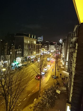 View from my balcony. Amsterdam.