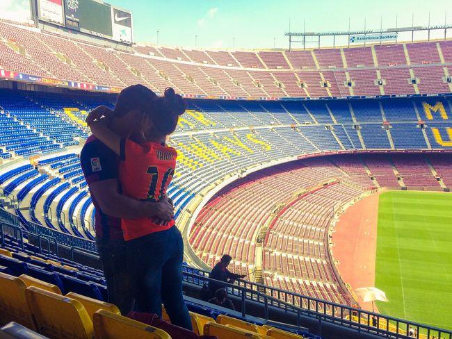 C'est La Vie Fans Goal Game Team Soccer Barcelona España Quality Time That's Me View
