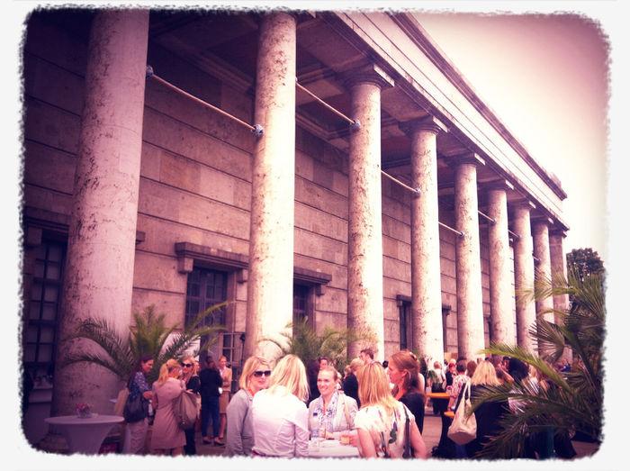 Haus der Kunst, lovely venue for @DLDWomen #dldw12