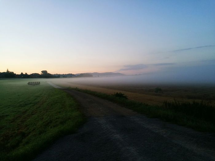 Landscape Morning Foggy Morning Fog Foggy Countryside Fields