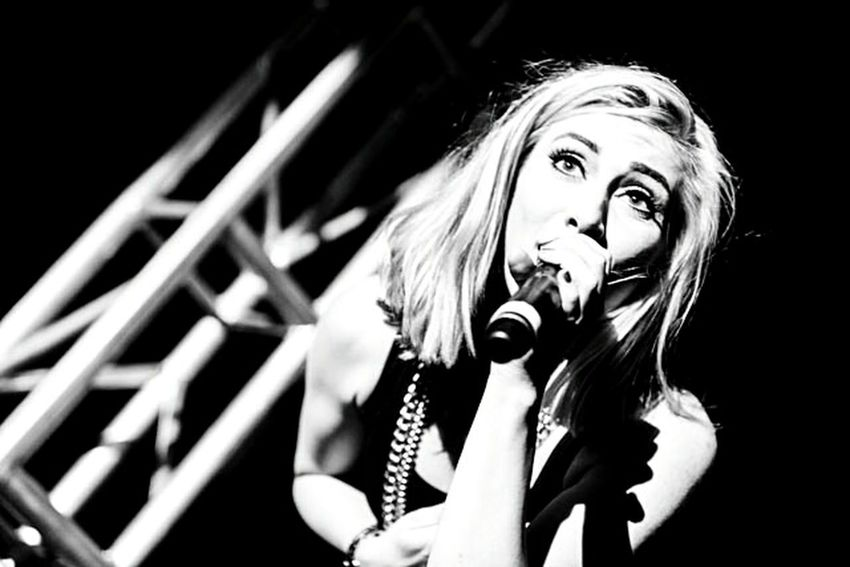 Karmin in concert. Check This Out Concertlivemusic KARMIN Concert Photography Concertphotographer Concertphoto Blackandwhite Concert Black And White Blackandwhite Photography