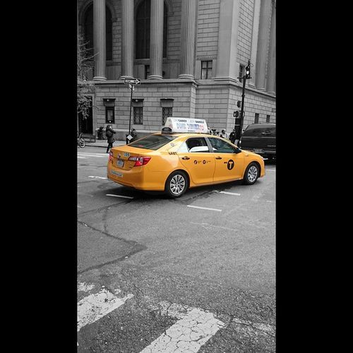 Your typical coloursplash of a New York Yellow Cab!! Colorme_nyc Coloursplash NYC Yellow yellowcabinnycimissnewyorkilovenewyork weareherenycNewyorknewyork