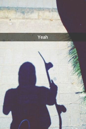 Skateboarding Skatelife Snapchat Shadow