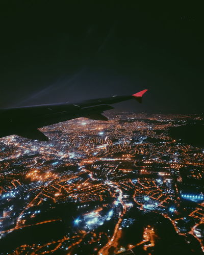 night city CFPRS Ricardo Barbosa Night Flight SP Fly Wing Blue Cidade City Overnight Brasil São Paulo Cityscape Sea Aerial View Sky The Traveler - 2018 EyeEm Awards HUAWEI Photo Award: After Dark My Best Photo