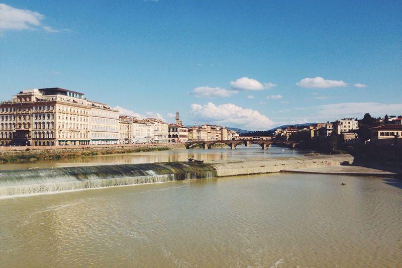 Florence River Ponte Vecchio Italy