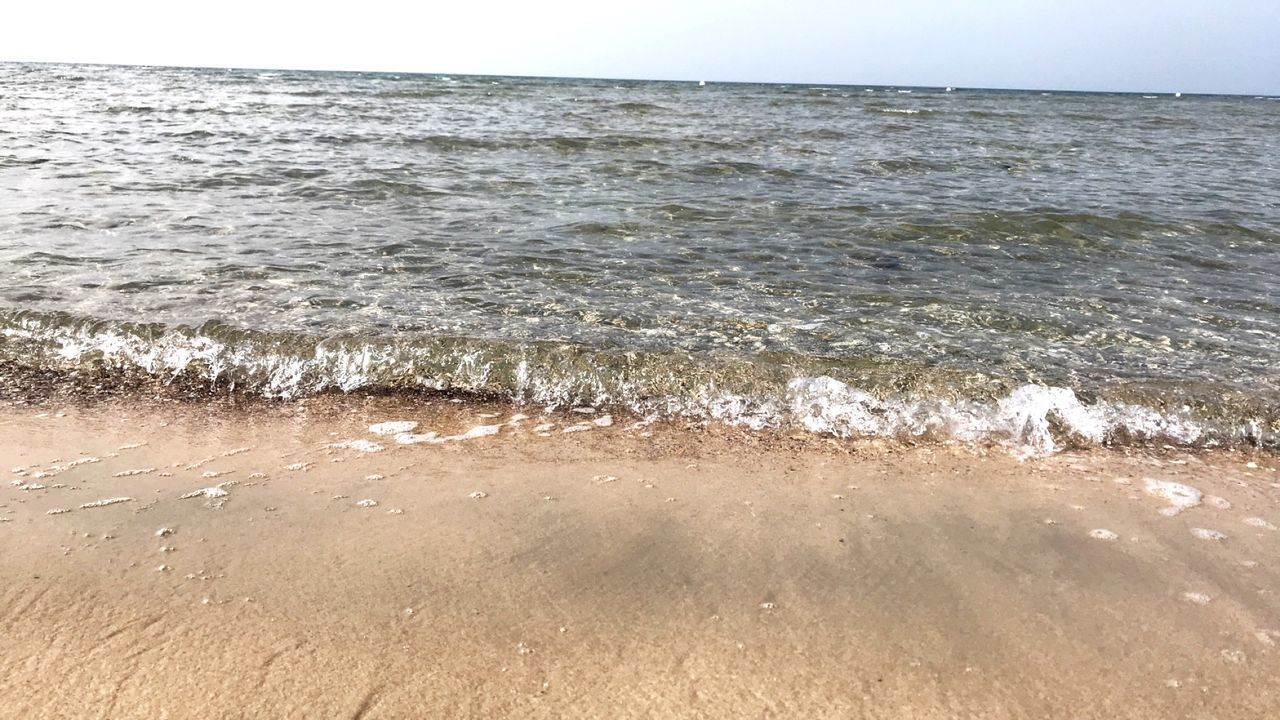 sea, water, beach, land, beauty in nature, motion, horizon over water, wave, horizon, scenics - nature, sky, sport, nature, no people, aquatic sport, tranquility, tranquil scene, sand, outdoors, power in nature