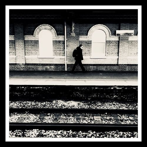 Commuter Arch Architecture One Person One Man Only Bnw Blackandwhite ShotOnIphone Shotoniphonex IPhone IPhoneography Mobilephotography Travel Travel Photography Streetphotography London LONDON❤ Uk United Kingdom England Britain Waterloo Postcode Postcards