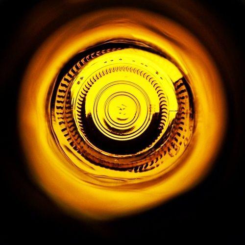 Summer Sunday Lens! Beer Goggles Beergoggles Amber glassbottle light tunnel amberlens beerlens summer sunday lens