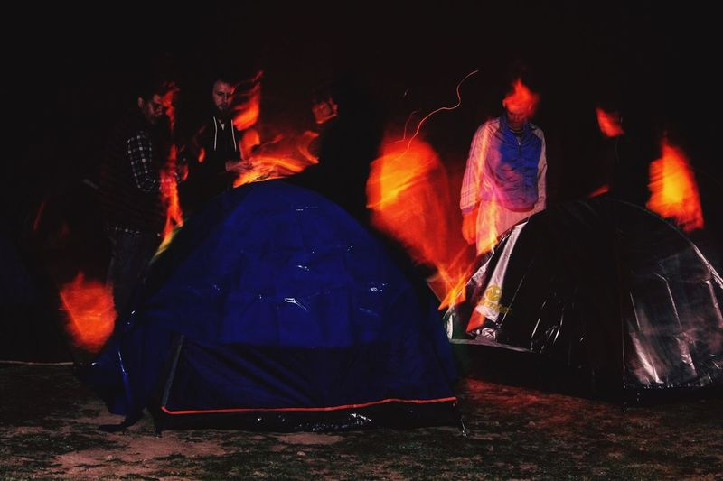 Camping Flame