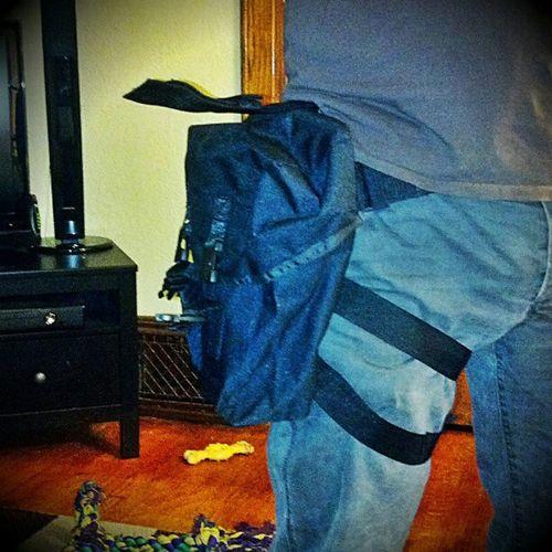 Today I won a Tactical Diaper bag at my HAZWOPER refresher class... Tacticalbabystuff
