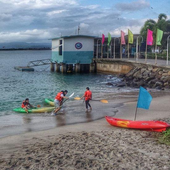 Camayan beach. Subic Resort Philippines