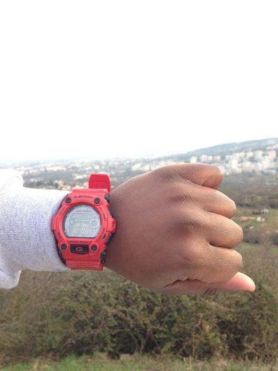 Chilling Landscape Watch G Shock