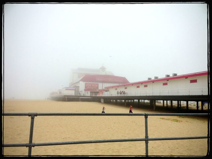 A misty day at Yarmouth!