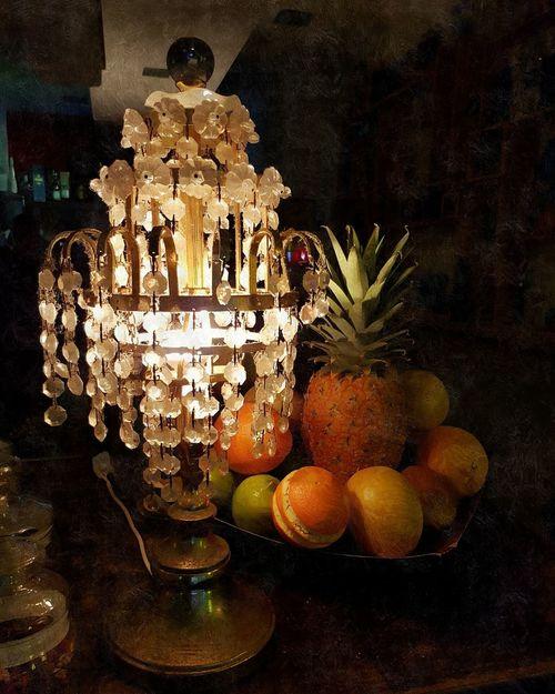 Fruit No People Table Indoors  Illuminated Close-up Freshness Lantern Art Bar Pineapple Orange Atmosphere Dutchmasters