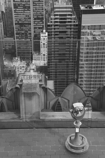 Manhattan Rockefeller Center Topoftherock Observatory New York New York City Monochrome Blackandwhite Urban Architecture Architecture_collection Travel City Bigapple