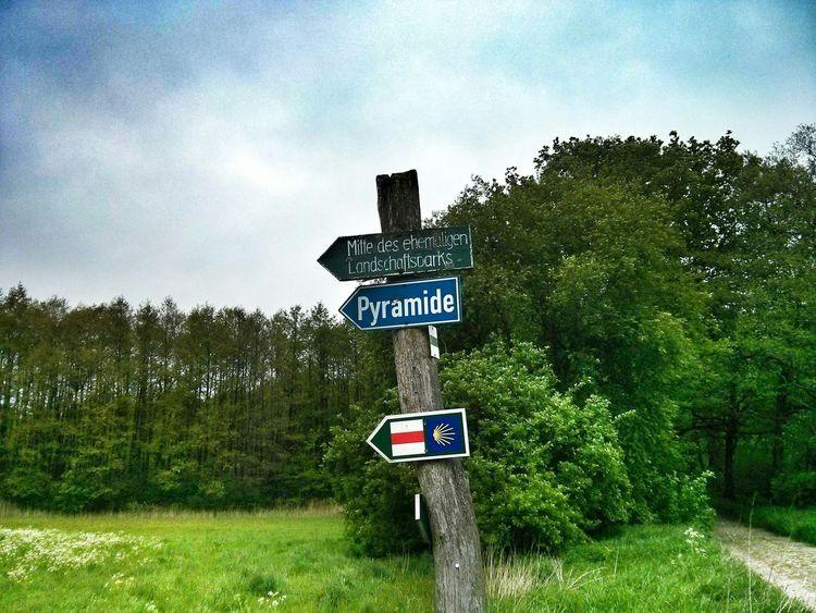 looking for the pyramid. Brandenburg Pyramid Indiana Jones