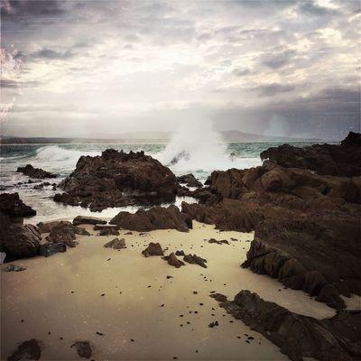 Mallacoota, Victoria Australia Hipstamatic East Gippsland Mallacoota Australian Landscape Australia Beach Sea Cloud - Sky Nature Wave No People Outdoors Beauty In Nature