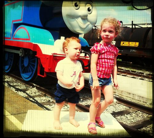 Fun day with Thomas!!