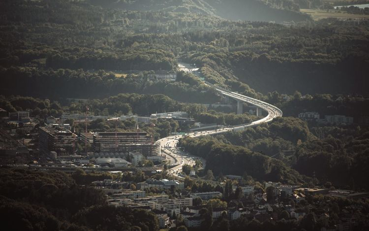 Architecture Bridge - Man Made Structure Cityscape Environment Hazy  Highway Landscape Road Scenics - Nature Viaduct