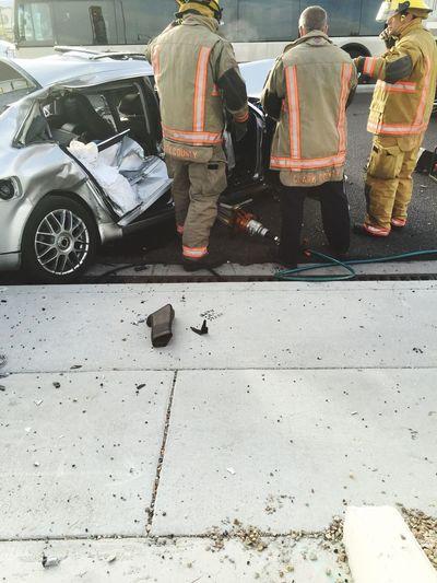 Accident Horrible Red Light Emergency Firefighter Emt Pixxzo Las Vegas