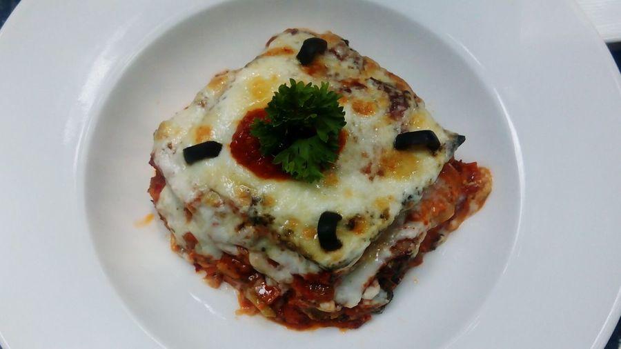 Food Porn Foodphotography Lasagna!!!!! Mouthwatering Vegan Food Street Food Worldwide Maximum Closeness