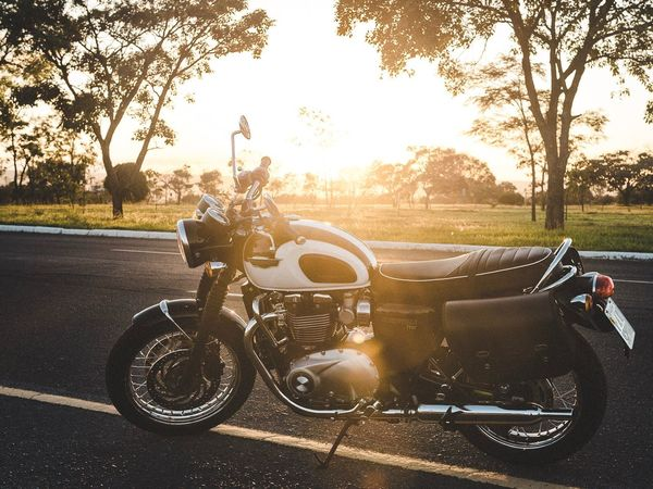 Motorcycle Road Transportation Mode Of Transport Biker Riding Motorcycle Racing Outdoors Day One Man Only Only Men People