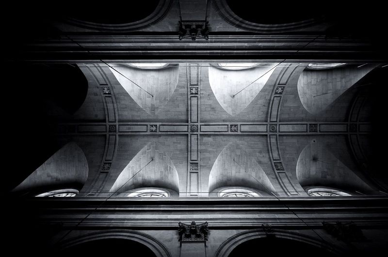 +++ Organic. Architecture Black And White Light And Shadow Black White Black&white Noir Et Blanc Shades Of Grey Noiretblanc Black And White Collection  Nofilter#noedit Blackandwhite Photography Amazing Architecture Blackandwhite Dark Darkness And Light Church Architecture_bw