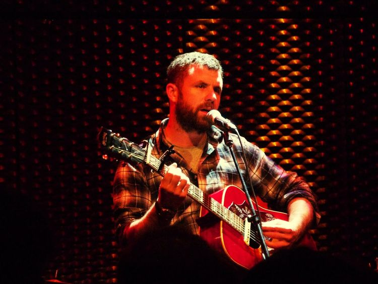 WUK Mick Flannery Concert Music Live Music Great Performance Beautiful Acoustic For The Love Of Music