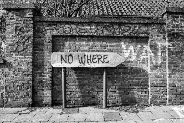 Day 60! Year Of Photography 2015 Photo Diary EyeEm Best Shots - The Streets EyeEm Best Shots - Black + White Belgium Environment Ghost Town Road To No Where Looking Into The Future Just Around The Corner Embrace Urban Life
