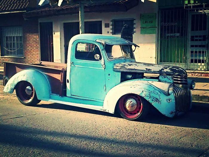 Classic Chevrolet Pickup Truck Taking Photos Hello World Hello World