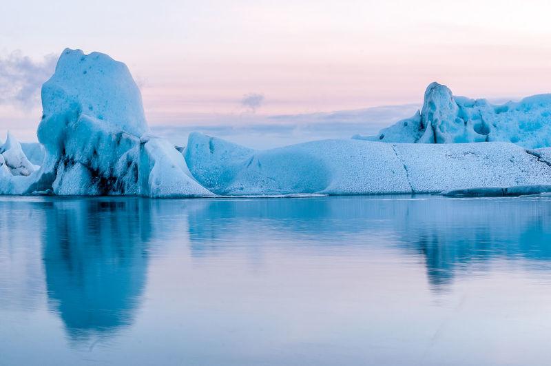Glacier lagoon. iceland