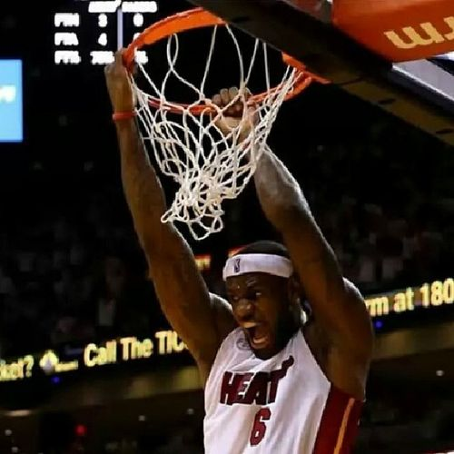 Lebronjames Feeltheheat Favouritepic Heats followmeinstabasketballballin