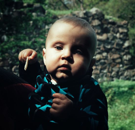 2019 Niklas Storm Maj Portrait Childhood Headshot Child Males  Holding Looking At Camera Close-up Babyhood Baby Clothing 0-11 Months Baby Baby Boys 6-11 Months Preschooler One Baby Boy Only Babies Only Unknown Gender The Portraitist - 2019 EyeEm Awards My Best Photo