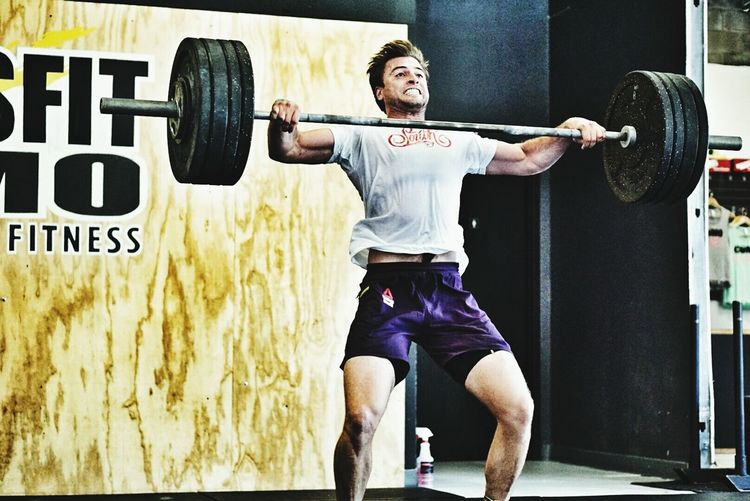 Olympic Lifting  Snatches Crossfit Fitness