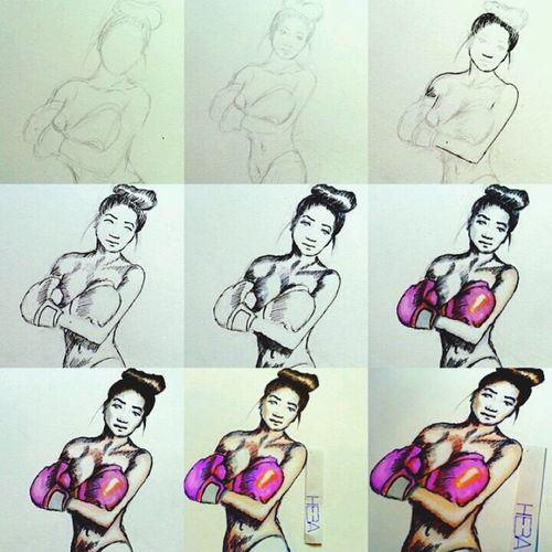 steps. breast cancer awareness sketch Breastcancerawareness Art Drawing Leonie