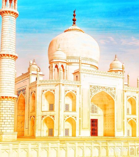 The Taj Mahal Architecture Travel Destinations Built Structure Religion Building Exterior Travel The Past Arch Dome History Belief No People Ancient Place Of Worship Nature City Tourism Ornate