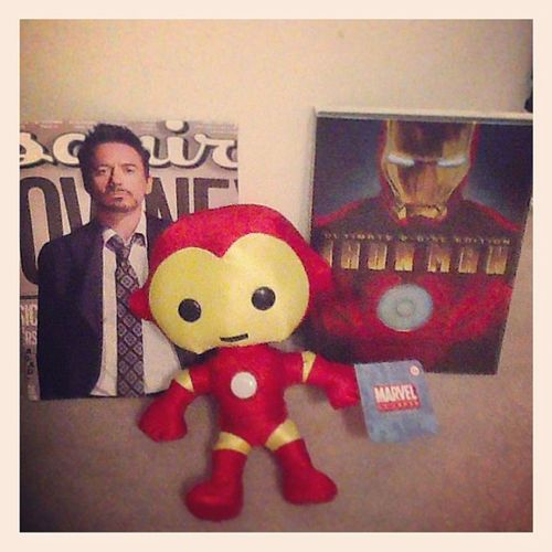 The ultimate birthday present: my husband. Thankssophiaandchloe Mykoreans Ironman Robertdowneyjr love husband amonthlate butitsokay