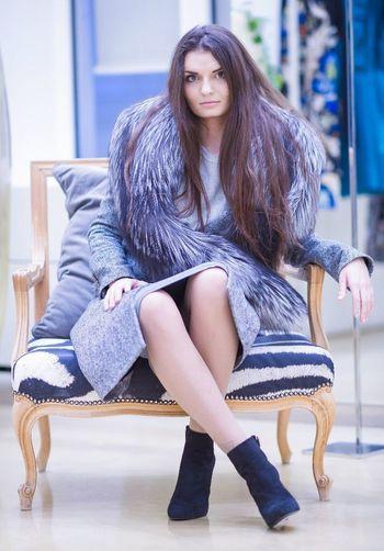 That's Me Russian Girl Fashion RobertoCavalli Model