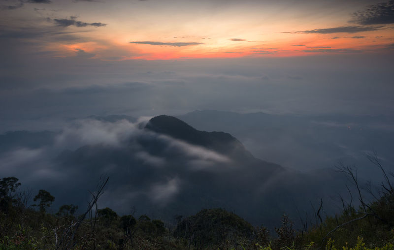 Sunrise View on