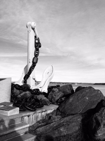 Water Sky Sea Rock Rock - Object Rock Formation Outdoors Anchor Giant Anchor