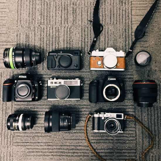 Things I Like Traveling My Treasure Camera Vintage Camera Stay Broke Shoot Film Fujifilm Canon Nikon Yashica FlatOut Layout