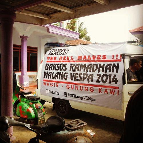 BaksosRamadhanMalves2014 MalangVespa Malves  Malang Vespa BrotherHood N19AB