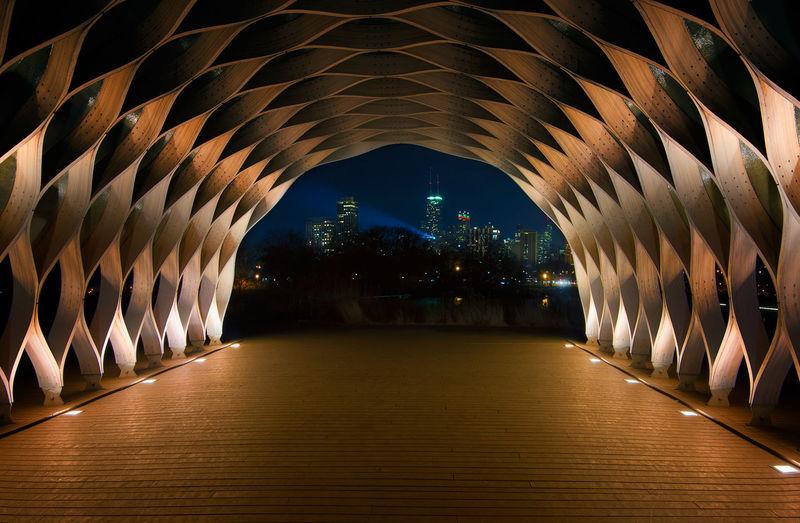 Illuminated dome